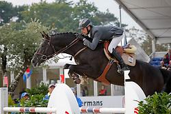 Bille Brecht - Hunter's Scendix<br /> World Championship Young Horses Lanaken 2008<br /> Photo Copyright Hippo Foto