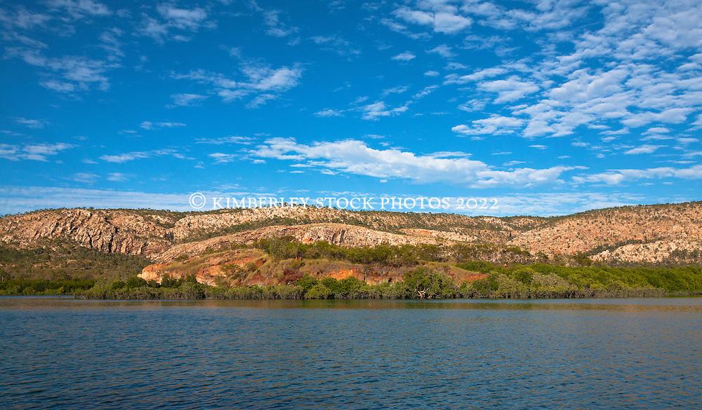 The McLarty Range in Talbot Bay