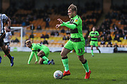 Forest Green Rovers George Williams(11) runs forward during the EFL Sky Bet League 2 match between Port Vale and Forest Green Rovers at Vale Park, Burslem, England on 23 March 2019.