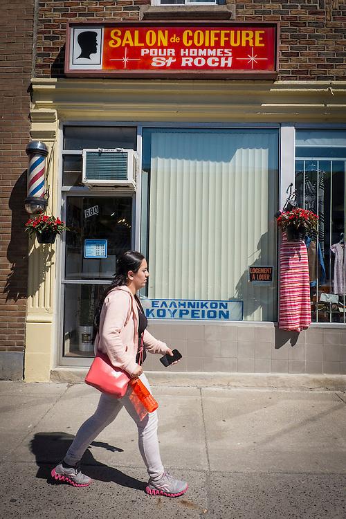 Parc-Extension est un quartier de la ville de Montr&eacute;al, au Qu&eacute;bec. Il est situ&eacute; dans l'arrondissement Villeray&ndash;Saint-Michel&ndash;Parc-Extension.<br /> <br /> Parc-Extension est le quartier le plus dens&eacute;ment peupl&eacute; de Montr&eacute;al. Avec 62 % de sa population n&eacute;e hors Canada, on associe d&rsquo;abord Parc-Extension &agrave; la multiethnicit&eacute; et au multiculturalisme. On y d&eacute;nombre en outre une quarantaine de langues maternelles autres que le fran&ccedil;ais ou l&rsquo;anglais.