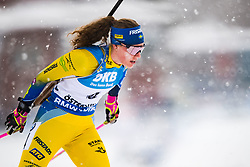March 10, 2019 - –Stersund, Sweden - 190310 Hanna Öberg of Sweden during the Women's 10 km Pursuit during the IBU World Championships Biathlon on March 10, 2019 in Östersund..Photo: Petter Arvidson / BILDBYRÃ…N / kod PA / 92254 (Credit Image: © Petter Arvidson/Bildbyran via ZUMA Press)