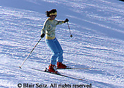 Outdoor recreation, Skiing, ski slopes, downhill skiing PA Ski Slopes, Downhill Skiers, Sking Single Female Skier