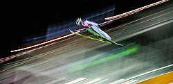 Anton Kalinitschenko of Russia in action during the HS134 during FIS Ski Jumping World Cup in Nizhny Tagil, Russia, 14 December 2014.
