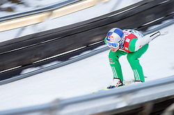 19.12.2014, Nordische Arena, Ramsau, AUT, FIS Nordische Kombination Weltcup, Skisprung, Training, im Bild Jakob Lange (GER) // during Ski Jumping of FIS Nordic Combined World Cup, at the Nordic Arena in Ramsau, Austria on 2014/12/19. EXPA Pictures © 2014, EXPA/ JFK