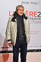 Claude Lelouch<br /> Lyon 8 oct 2016 - Festival Lumi&egrave;re 2016 - C&eacute;r&eacute;monie d&rsquo;Ouverture<br /> 8th Film Festival Lumiere In Lyon : Opening Ceremony