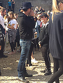 EXCLUSIVE Jude Law visits Dismaland
