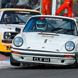 KNOCKHILL Scottish Motor Racing Club meeting..Stan Bernard in his Porshe 911.(c) STEPHEN LAWSON | StockPix.eu