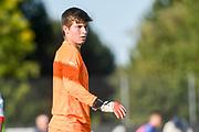 21.09.2017; Niederhasli; FUSSBALL U16 - Schweiz - Italien;<br /> Torhueter Joel Bonorand (SUI) <br /> (Andy Mueller/freshfocus)