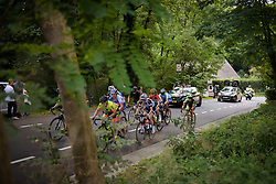 The break on the first GPM at Boels Rental Ladies Tour Stage 6 a 159.7 km road race staring and finishing in Sittard, Netherlands on September 3, 2017. (Photo by Sean Robinson/Velofocus)