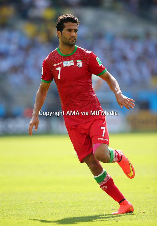Masoud Shojaei of Iran