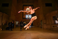 Dance As Art Grand Central Terminal with dancer
