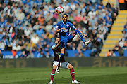 Leicester City midfielder Riyad Mahrez (26)  controls the ball during the Barclays Premier League match between Leicester City and West Ham United at the King Power Stadium, Leicester, England on 17 April 2016. Photo by Simon Davies.