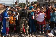 Refugees Gevgelija station, 19.08.15