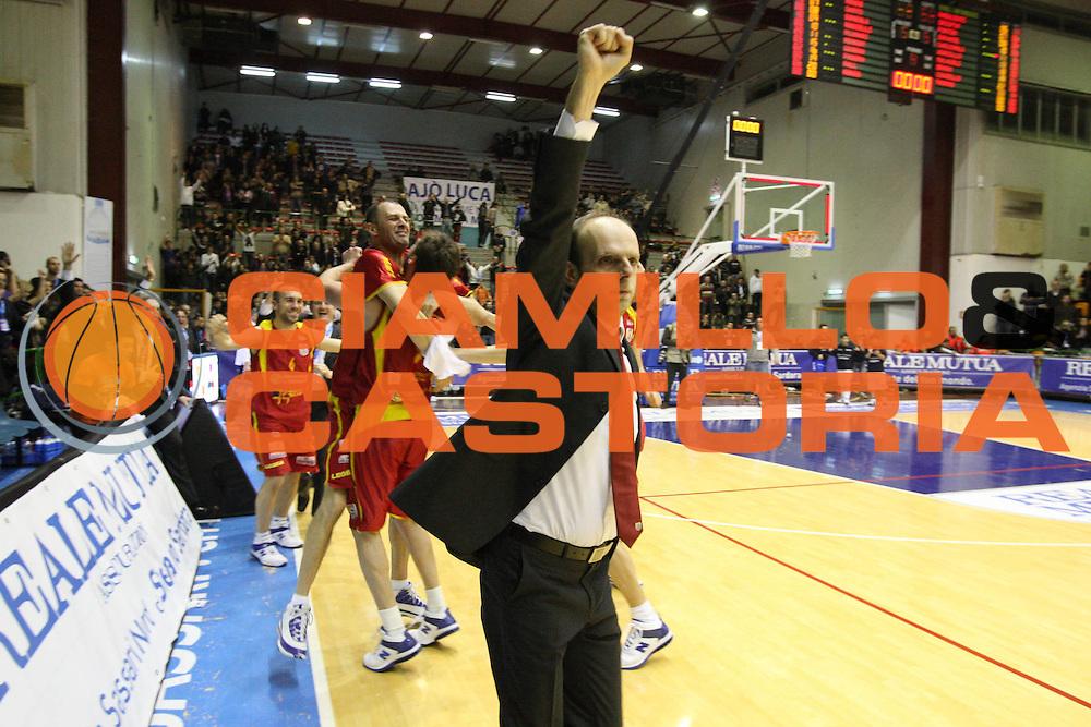 DESCRIZIONE : Sassari Lega A2 2009-10 Final Four Coppa Italia Finale Prima Veroli Enel Brindisi<br /> GIOCATORE : Massimo Cancellieri<br /> SQUADRA : Prima Veroli<br /> EVENTO : Campionato Lega A2 2009-2010<br /> GARA : Prima Veroli Enel Brindisi<br /> DATA : 07/03/2010<br /> CATEGORIA : Esultanza<br /> SPORT : Pallacanestro<br /> AUTORE : Agenzia Ciamillo-Castoria/GiulioCiamillo<br /> Galleria : Lega Basket A2 2009-2010  <br /> Fotonotizia : Sassari Lega A2 2009-2010 Final Four Coppa Italia Finale Prima Veroli Enel Brindisi<br /> Predefinita :