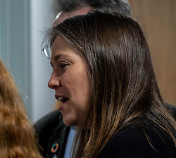 Pictured: Aileen Campbell<br /><br />Aileen Campbell, MSP, on visit to Space in ESpacedinburgh, a previous charity recipient, announced the  latest £25m regeneration funding. <br /><br />Ger Harley | EEm 27 February 2020