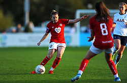 Frankie Brown of Bristol City in action- Mandatory by-line: Nizaam Jones/JMP - 27/10/2019 - FOOTBALL - Stoke Gifford Stadium - Bristol, England - Bristol City Women v Tottenham Hotspur Women - Barclays FA Women's Super League