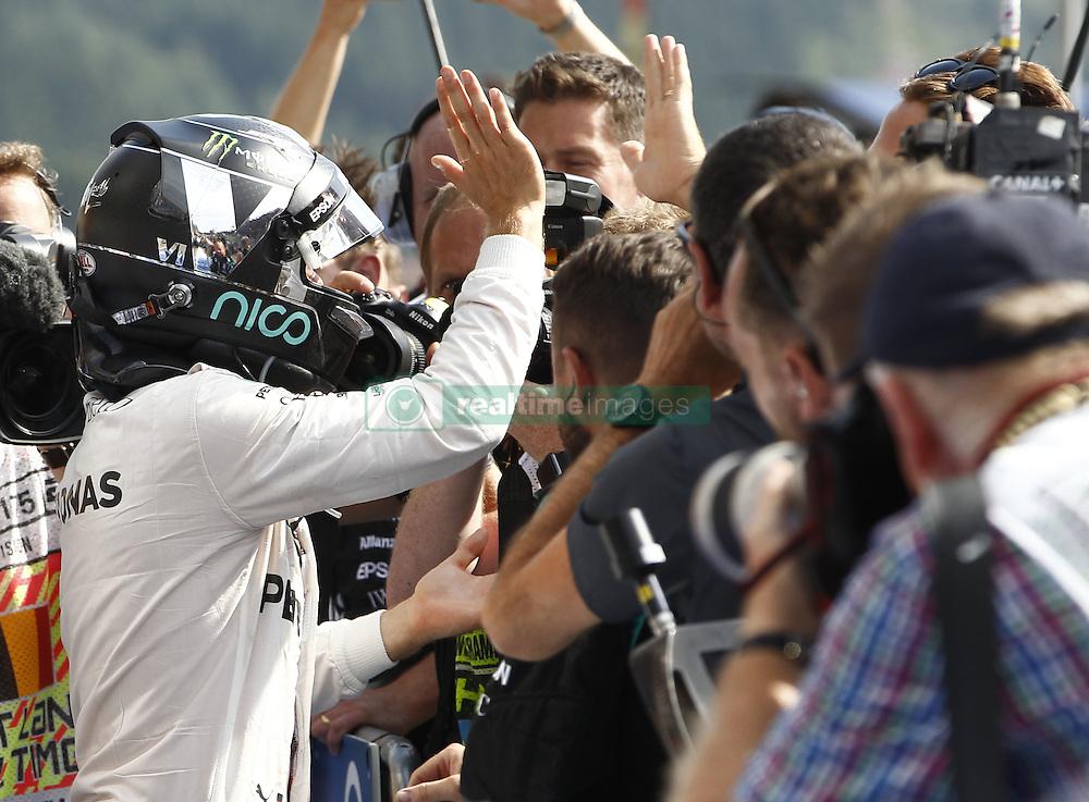 August 28, 2016 - Spa Francorchamps, Belgium - Motorsports: FIA Formula One World Championship 2016, Grand Prix of Belgium, .#6 Nico Rosberg (GER, Mercedes AMG Petronas Formula One Team) (Credit Image: © Hoch Zwei via ZUMA Wire)