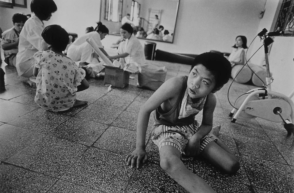 'Hanoi Peace Village', one of the country's largest centres for children suffering from Agent Orange related disorders. More than 30 years after the end of the Vietnam War, parts of the country are still contaminated with 'Agent Orange'.<br />