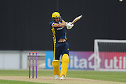 Chris Wood of Hampshire batting during the Royal London One Day Cup match between Hampshire County Cricket Club and Middlesex County Cricket Club at the Ageas Bowl, Southampton, United Kingdom on 23 April 2019.