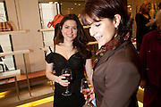NERI KARRA; JENI LITTLETON- BOOK PARTY FOR A BOOK BY DONNA FRANCESCA CENTURIONE SCOTTO AT Salvatore Ferragamo, 24 Old Bond Street, London W1. 14 May 2009