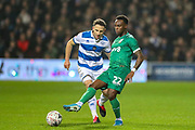 Sheffield Wednesday defender Moses Odubajo (22) during the The FA Cup match between Queens Park Rangers and Sheffield Wednesday at the Kiyan Prince Foundation Stadium, London, England on 24 January 2020.