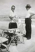 summer terrace 1949 France