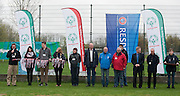 Polish Soccer Tournament Unified of Special Olympics in Mietne on April 28, 2013.The idea of Special Olympics is that, with appropriate motivation and guidance, each person with intellectual disabilities can train, enjoy and benefit from participation in individual and team competitions...Poland, Mietne, April 28, 2013..Picture also available in RAW (NEF) or TIFF format on special request...For editorial use only. Any commercial or promotional use requires permission...Mandatory credit: Photo by © Adam Nurkiewicz / Mediasport