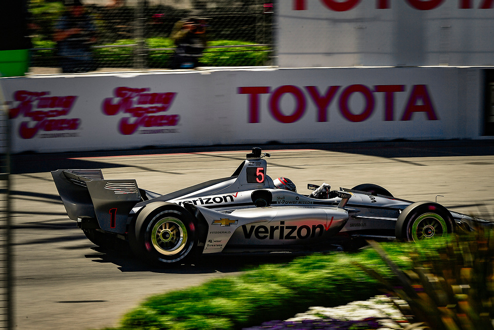 Josef Newgarden, Team Penske Chevrolet<br /> Saturday 14 April 2018<br /> Toyota Grand Prix of Long Beach<br /> Verizon IndyCar Series<br /> Streets of Long Beach, California USA<br /> World Copyright: Scott R LePage<br /> LAT Images