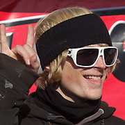 Taylor Seaton, USA, first place winner of  the Men's Halfpipe Finals during The North Face Freeski Open at Snow Park, Wanaka, New Zealand, 3rd September 2011. Photo Tim Clayton...