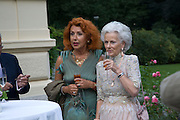LEFT: MRS. USCHI KRUSE, Christie's Gala. Casa Austria.  Amadeus Weekend. Salzburg. 22 August 2008.  *** Local Caption *** -DO NOT ARCHIVE-© Copyright Photograph by Dafydd Jones. 248 Clapham Rd. London SW9 0PZ. Tel 0207 820 0771. www.dafjones.com.
