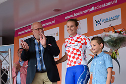 Winanda Spoor retains the lead in the sprint competition at the 26.4 km Stage 2 Team Time Trial of the Boels Ladies Tour 2016 on 31st August 2016 in Gennep, Netherlands. (Photo by Sean Robinson/Velofocus).