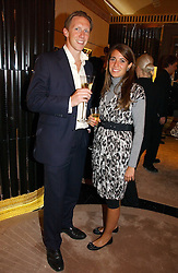 MR HENRY LOWSON and MISS ROCIO ACAL  at a party to ceebrate the bublication of 'The Ravenscar Dynasty' by Barbara Taylor Bradford hld at the newly opened Mousaieff Store, 172 New Bond Street, London on 28th September 2006.<br /><br />NON EXCLUSIVE - WORLD RIGHTS