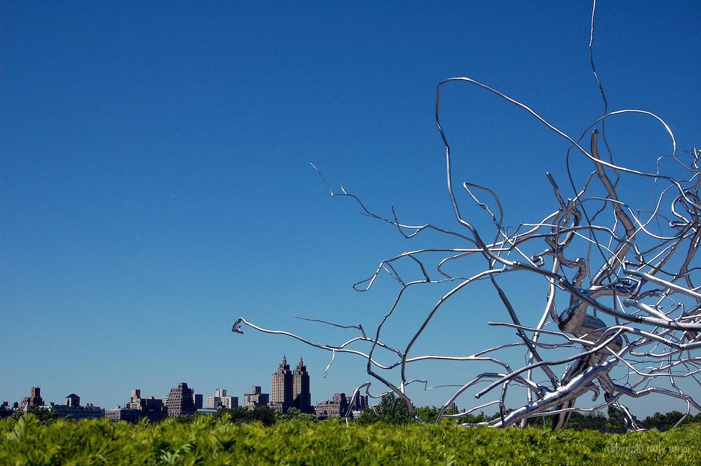 Roxy Paine sculpture at The Met