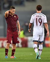 Uefa Champions League-2014-2015 / Group E / <br /> As Roma vs Fc Bayern Munich 1-7  ( Olympic Stadium, Roma - Italy ) <br /> Francesco Totti of As Roma , disappointed during the match between As Roma and Fc Bayern Munich