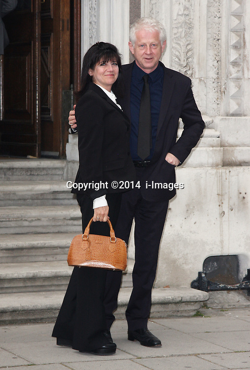 Image ©Licensed to i-Images Picture Agency. 30/06/2014. London, United Kingdom. EMMA FREUD AND RICHARD CURTIS attends a reception for the Best of Britain's Creative Industries at The Foreign Office. Picture by  i-Images