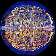 Manhattan - Fisheye Images - 86th Floor of the Empire State Building
