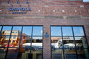 DETROIT, MI - OCTOBER, 30: The Shinola store in Detroit, Michigan, Thursday, October 30, 2014. (Photo by Jeffrey Sauger)