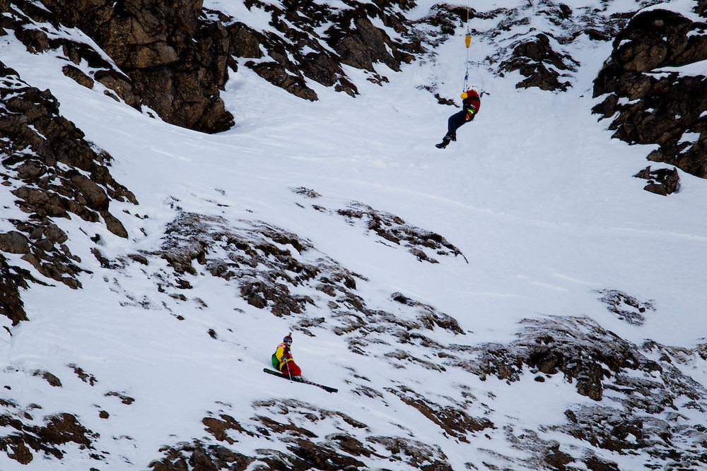 EVENT: BIG MOUNTAIN FIEBERBRUNN 2011 BY NISSAN, RIDER: TORGRIM VOLE - NOR, SPORT: SKI, STYLE: ACTION.Freeride World Tour 2011 - Six locations around the world, Chamonix Mont-Blanc, Engadin St Moritz, Sochi, Kirkwood, Fieberbrunn and Verbier have been selected for the 4th edition of the Freeride World Tour..The planet's top freeride skiers and snowboarders, men and women travel around the world to prove their skills on some of the most challenging faces..www.freerideworldtour.com