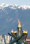 Olympic Flame, 2010 Vancouver Winter Olympics