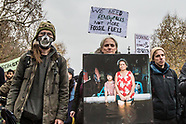 24 Nov 2018 - 'Extinction Rebellion -  funeral for our future' marches to Buckingham Palace.