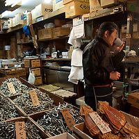 Early morning at the market, Tokyo, Japan