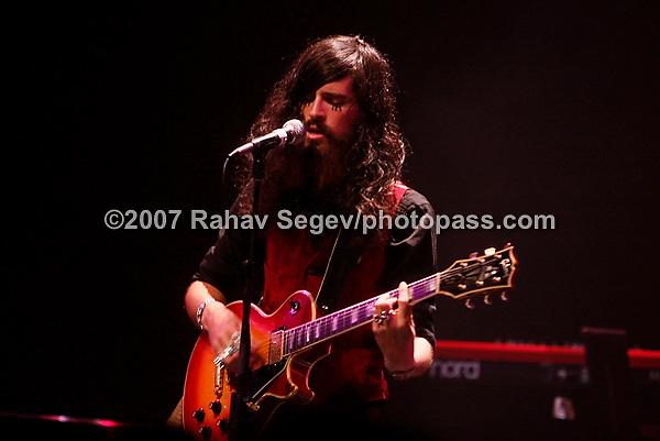 Devendra Banhart performing at the Manhattan Center on September 27, 2007.