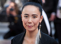 Director Naomi Kawase at the gala screening for the film Graduation (Bacalaureat) at the 69th Cannes Film Festival, Thursday 19th May 2016, Cannes, France. Photography: Doreen Kennedy