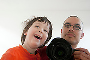 Vader en zoon.<br />