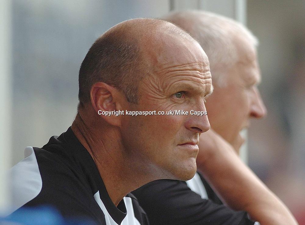 STEVE BURR,Manager, Stalybridge, Kettering Town, Stalybridge Celtic - Kettering Town, Blue Square Conference North 11/8/2007