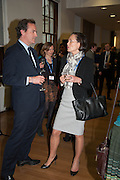 NICHOLAS HURD; TIINI LEE, STREETSMART RAISES RECORD-BREAKING £805,000 TO TACKLE HOMELESSNESS. Celebrate with a drinks party at the Cabinet Office. Horse Guards Rd. London. 13 May 2013.