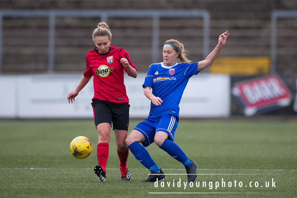 Forfar Farmington v Montrose Ladies in pre-season friendly acrion<br /> <br />  - &copy; David Young - www.davidyoungphoto.co.uk - email: davidyoungphoto@gmail.com