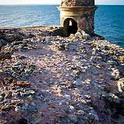 Ruins of the Forte da Ponta  Fortress looking out to sea, Morro de São Paulo, Bahia, Brazil. Photo by Jen Klewitz