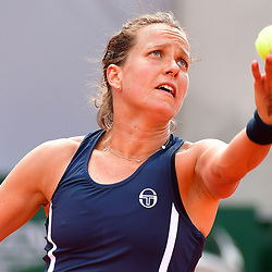 Barbora Strycova of Czech Republic during Day 8 of the French Open 2018 on June 3, 2018 in Paris, France. (Photo by Dave Winter/Icon Sport)