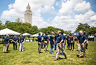 Industry workers at Louisiana Grow's OIl and Natural Gas Industry Day in Baton Rouge.